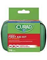 Curad Travel Kit In Soft Case - 75 Count