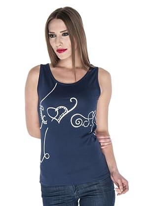 Giorgio Di Mare Camiseta Sienna (Azul Marino)