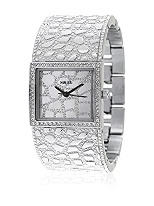 Guess Reloj de cuarzo Woman W0223L1 Plata 27 x 24 mm