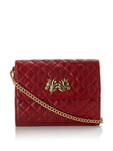 Rebecca Minkoff Women's Forever Quilted Clutch, Blood Red