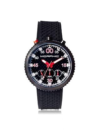 Morphic Men's 2904 M29 Series Black Silicone Watch