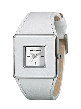 ARMAND BASI A0651L01 - Reloj de Señora movimiento de cuarzo con correa de piel Blanca