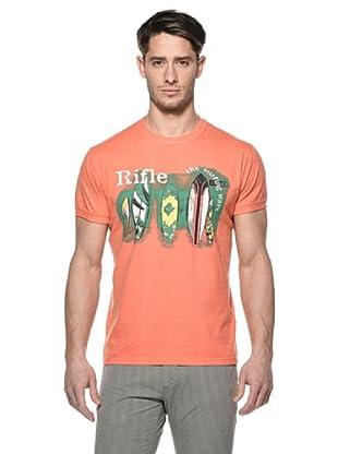 Rifle Camiseta Nebraska (Naranja)