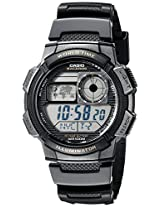 Casio Youth Digital Grey Dial Men's Watch - AE-1000W-1AVDF (D080)