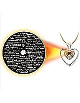 Dijyo Divine Darshan Love Love Love ......100 Silver pendant (1S28LH)
