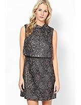 Black Sleeve Less Dress