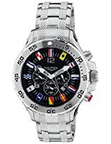 Nautica Chronograph Black Dial Men's Watch - NTA29512G