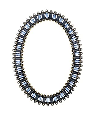 Olivia Riegel Copenhagen Oval Frame with Swarovski® Crystals (Blue)