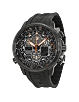 Citizen Navihawk A-T Black Dial Black Rubber Men's Watch - Czjy8035-04E