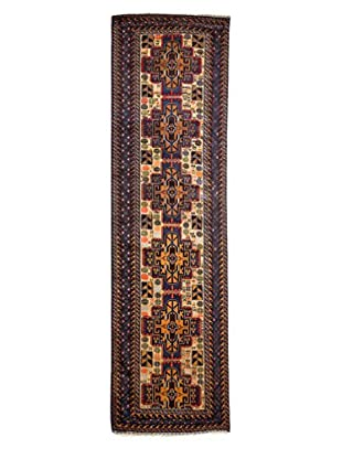 Darya Rugs One-of-a-Kind Tribal Rug, Navy, 2' 9