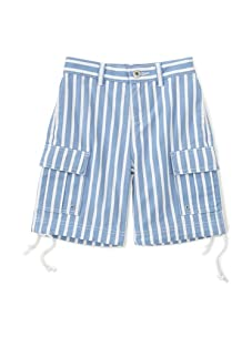 Sonia Rykiel Boys Striped Shorts (Blue)