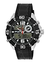 Maxima Ego Analog-Digital Multi-Color Dial Unisex Watch - E-33152PPAN