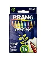 Dixon Prang Wax Crayons, 16 Color Set, Assorted Colors (00100)
