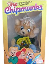 "The Chipmunks 10"" Dressable Theodore Plush Vintage (1983)"