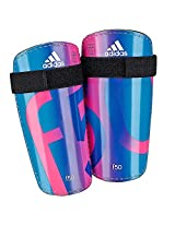 Adidas F50 Lite Football Shin Guards - Blue/Pink