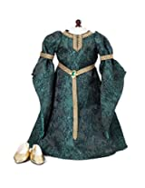 Celtic Princess Dress & Shoes - Fits 18