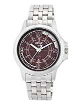Helix Analog Brown Dial Men's Watch - TW023HG05