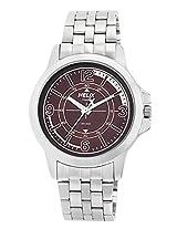 Helix Analog Brown Dial Men's Watch - TW023HG05