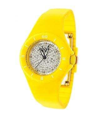 al&co Reloj silicona Amarillo