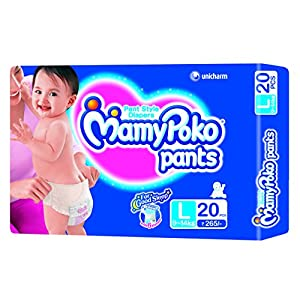 Mamy Poko Pant Style Large Size Diapers (20 Count)