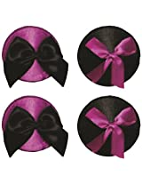 O Sexy Lingerie Women's Pasties With Bows Set