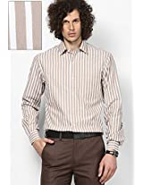 Beige Formal Shirt John Players
