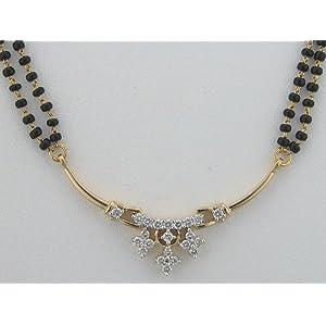 Avsar Gold and Diamond Mangalsutra