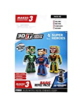 3D Character Creator DC Comics Style 2 Basic Refill Pack Novelty Toy