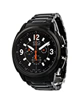 Esq By Movado Excel Chronograph Black Dial Black Ip Stainless Steel Men'S Watch - Esq-07301418