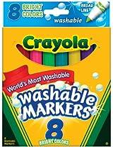 Crayola 58-7819 Crayola Broad Line Washable Markers