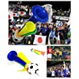 ブブゼラ サッカー日本代表応援 VUVUZELA 南アフリカ民族楽器 日本代表チーム応援ラッパ ブブセラ ブーブーゼラ