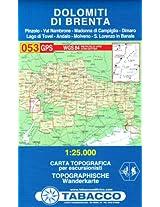 Dolomiti di Brenta 053 GPS 2013: TAB.053