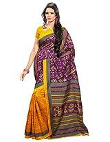 Bhagalpuri Style Art Silk Saree 5109A