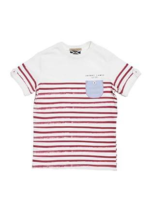 Camiseta Rayas Blount (Rojo / Blanco)