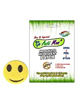 GoColor Anti Mosquito Repellent Patch Smiley With Natural Citronella Oil ( 6 Stickers )
