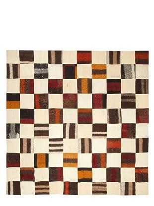 Flatweave Checkerboard, 8' x 10'
