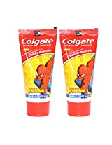 Colgate Kids Spiderman Blue Toothpaste - 80 g (Pack of 2)