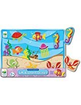 The Learning Journey My First Lift & Learn Ocean Puzzle