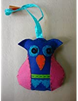 Knitknacks Blue Felt Hanging Decoration