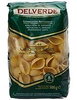 Delverde Conchiglie Rigate Bronzo Pasta, 500g