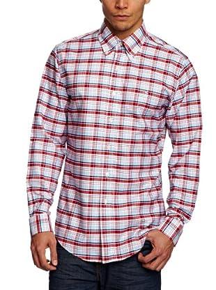 Brooks Brothers Camisa Helen (Rojo / Azul)