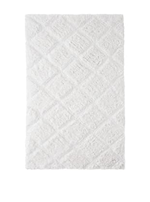 Bella Letto Valley Carved Rug (White)