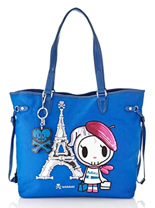 Tokidoki Shopping Bag Marais blau