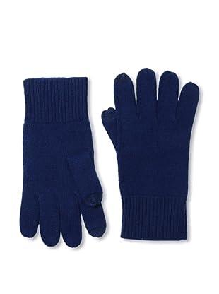 Sofia Cashmere Men's Smartphone Touchscreen Gloves (Navy)