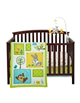 Looney Tunes Natures Fantasy 3 Piece Crib Set By Nojo
