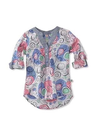 KANZ Girl's Printed Tunic (Multi)