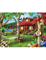 Masterpieces 31574 Alan Giana Lakeside Retreat Puzzle, 750 Pieces
