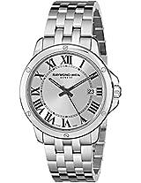 Raymond Weil Men's 5591-ST-00659 Tango Analog Display Swiss Quartz Silver Watch