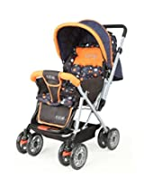 LuvLap Baby Stroller Pram Sunshine Orange