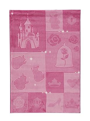 ABC Tappeti Alfombra Disney Comfort Line (Rosa)